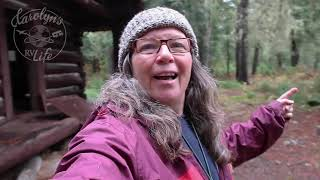 RVing the Wild and  Remote Lewis and Clark Highway with my Friend Kristi