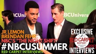 Interview de Brendan Fehr & JR Lemon - NBC Summer 2017