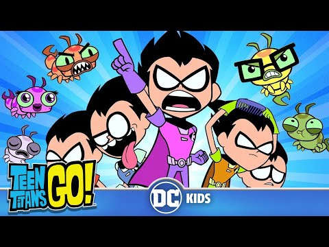 Teen Titans Go! | Robins VS. Silkies | DC Kids