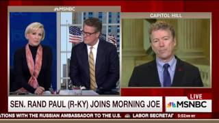 Rand Paul on Solving Obamacare with his Free market Healthcare Bill
