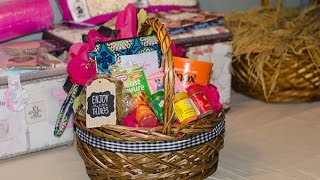 Easy And Affordable Gift Basket Tutorial