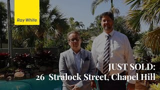 JUST SOLD: 26 Stralock Street, Chapel Hill