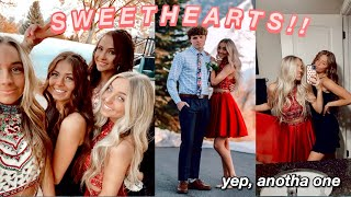asking a boy to a high school dance! | SWEETHEARTS!! (ft. day date, GRWM)