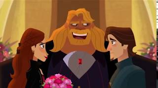 Rapunzels Tangled Adventure - Stalyan  And Eugene Marriage Proposal - Beyond The Corona Walls