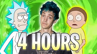 I Did Rick & Morty Impressions for Four Hours Straight   Ninja