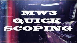 Quickscope iSniping in MW3