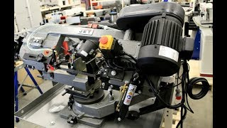 Ленточнопильный станок JET MBS-712 от компании ПКФ «Электромотор» - видео
