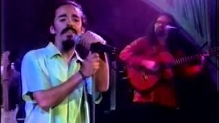 Café Tacvba tocando ojalá que llueva café con Verónica Castro 1996