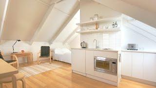 NEVER TOO SMALL Ep 40 36sqm/387sqft Small Apartment - Man Cave, Garage Loft