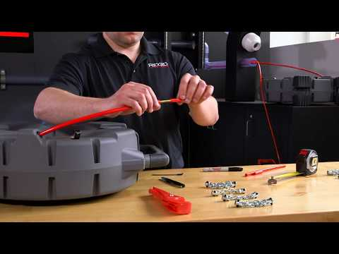 How-To Replace RIDGID FlexShaft® Drain Cleaning Machines Cable