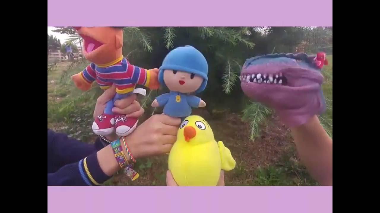 El pollo Pepe y sus amigos cantan los días de la semana