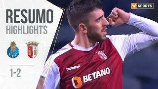 FC Porto 1-2 SC Braga All Goals & Highlights (Portuguese League 19/20 #17)