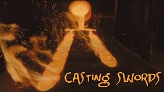 Casting swords in the movies - forging a lie