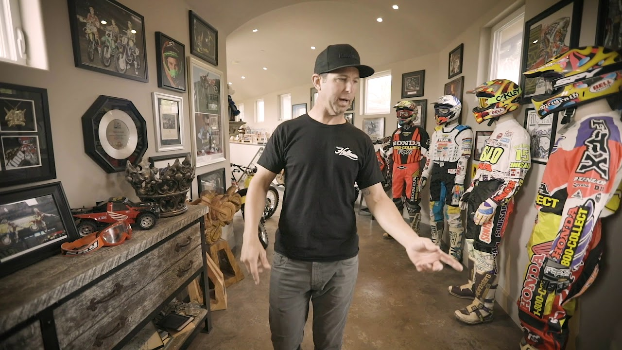 Jeremy McGrath Trophy Room