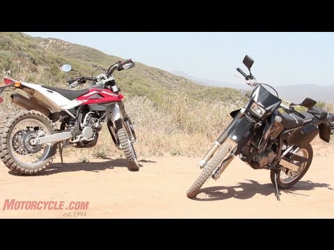 2012 Husqvarna TE250 vs. 2012 Suzuki DR-Z400 vs. 2013 Yamaha WR250R – 2012 Dual-Sport Shootout