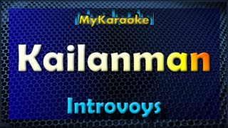 Kailanman - Karaoke version in the style of Introvoys