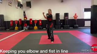 Front Hand Middle Block