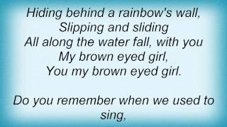 John Anderson - Brown Eyed Girl Lyrics