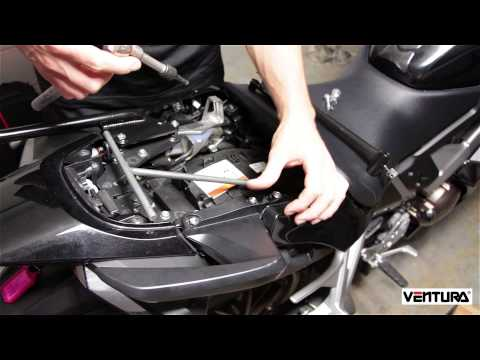 Fitting a Pack-Rack to a 2015 VFR800