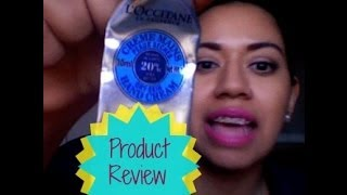 L'Occitane en Provence Hand Cream || Product Review