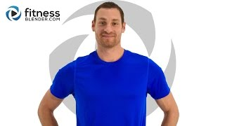 At Home Brutal HIIT Workout with Warm Up - 15 Minute No Equipment Cardio Tabata by FitnessBlender