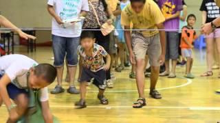 China Bring Me Hope Orphan Camp Plays Limbo