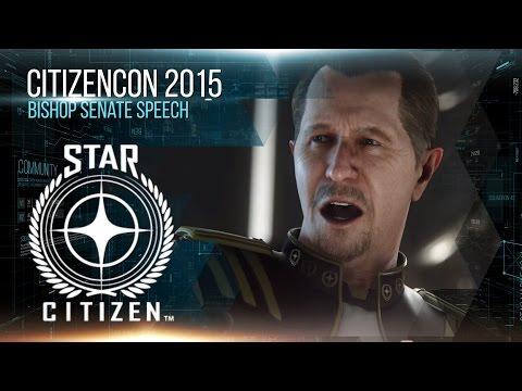 Squadron 42: Řeč admirála Bishopa v senátu - Star Citizen