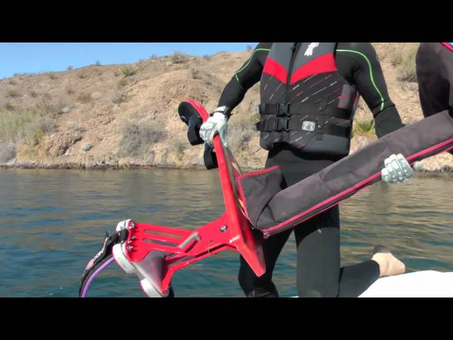 Sky Ski / Air Chair Tips: Handling From WATER to BOAT. Best Hydrofoil,  Water Ski Tricks