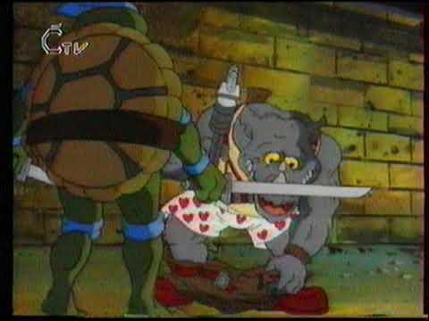 Želvy ninja - Pod ulicemi města, ČTV (ukážka č. 2)