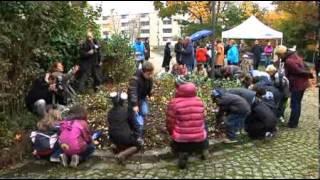 preview picture of video 'Tulpenpflanzaktion Neuaubing-Westkreuz'