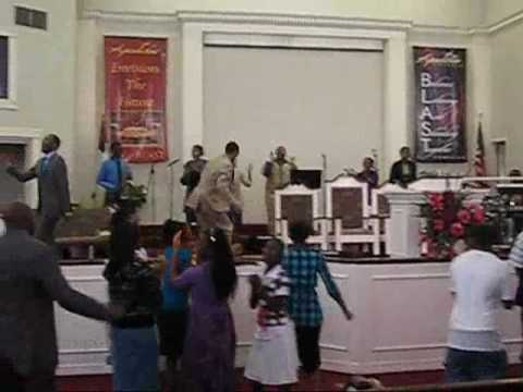 """Minister Lawrence Wood at """"NOW"""" Youth Conference at Apostolic Tabernacle"""