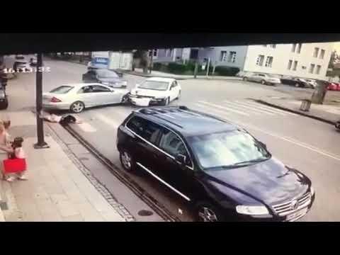 გაფრთხილება: ვიდეო მასალა შეიცავს მძიმე კადრებს - შემზარავი ავარია ფოთში