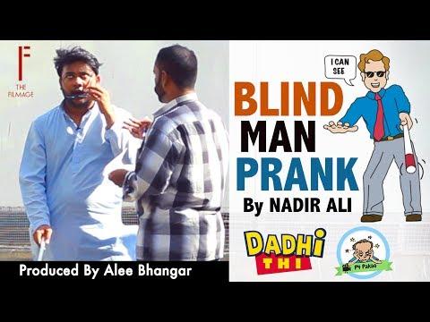 Blind Man Funny Prank