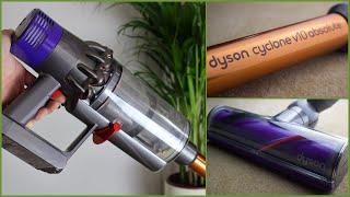 Dyson Cyclone V10 Absolute DEUTSCH / kabelloser Staubsauger / 60 Minuten Akkulaufzeit