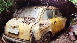 Забытые автомобили (часть 2) / Abandoned  Russian cars