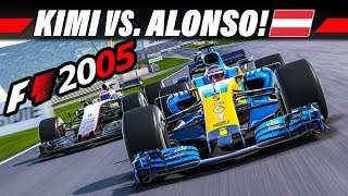 F1 2005 MOD KARRIERE #6 – Österreich GP | LAST TO FIRST Let's Play Formel 1 4K Gameplay German