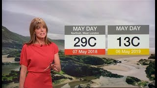 Weather Events 2019 - May Day Bank Holiday Record Again? (UK) - BBC News - May 2019