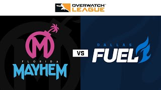 Florida Mayhem vs Dallas Fuel | Week 19 | NA Day 1