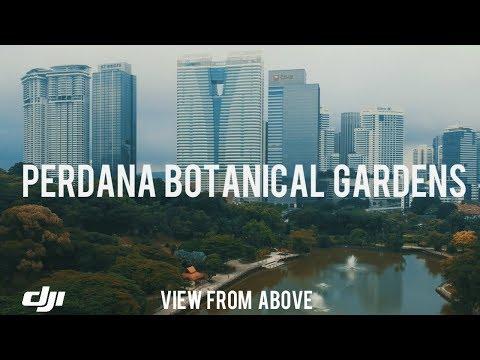 Perdana Botanical Gardens Kuala Lumpur (DJI SPARK DRONE) VIEW FROM ABOVE