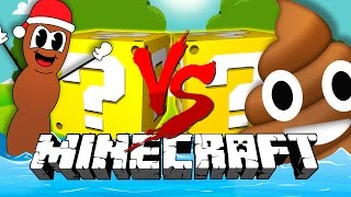 Minecraft | POOP LUCKY BLOCK CHALLENGE | Collecting Poop Blocks?!