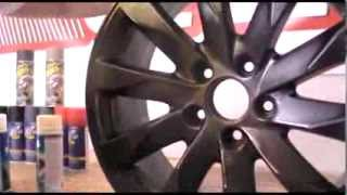 preview picture of video 'Plasti Dip - Cerchio base nero opaco con finiture Metalizer by Dipyourcar.it'