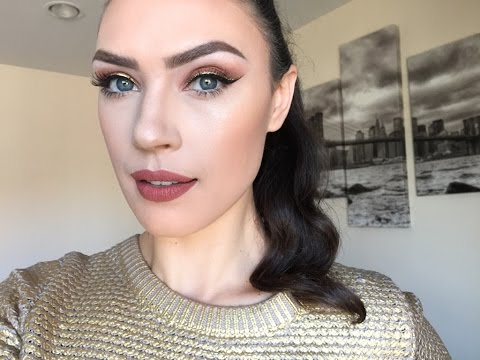 Holiday Glam Series- Part 3 - Double Winged Liner