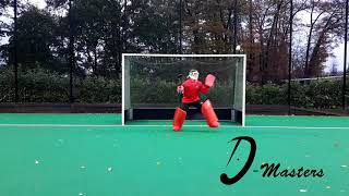 D Masters Goalie - Left Hand Save High