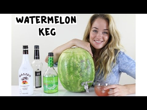 How to make a Watermelon Keg – Tipsy Bartender