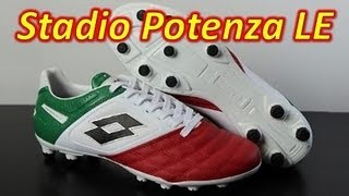 Lotto Stadio Potenza II 100 Tricolore (1 of 500) - Unboxing + On Feet