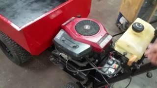 Homemade Cub Cadet dump truck - Самые лучшие видео