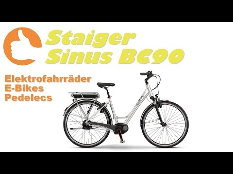 Staiger Sinus BC90 2015 [E-Bike Produktvideo]