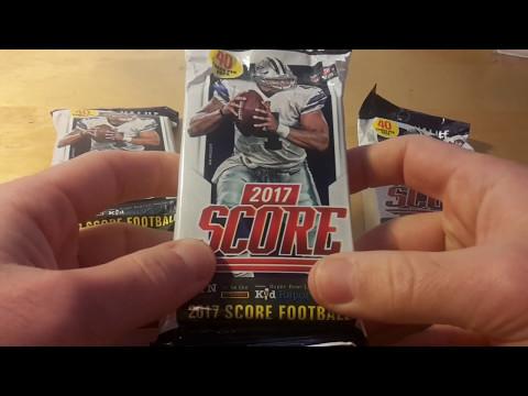 Panini 2017 Score NFL Football Retail Fat Packs Opening