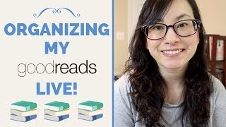 April 2020 Goodreads Organization LIVE!