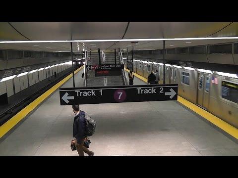 Новая станция метро Нью-Йорка